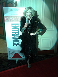 Holly as Joan Rivers
