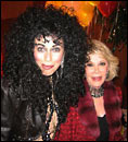 Holly as Cher with Joan Rivers